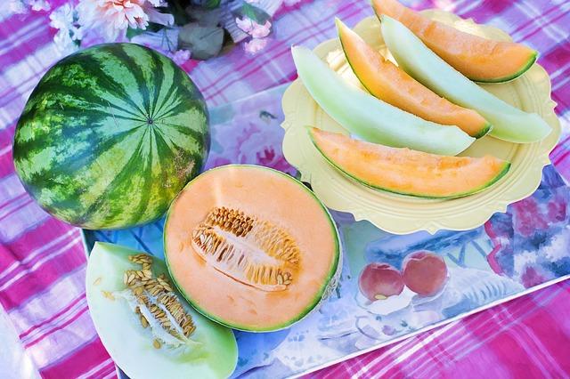 Leckere Melonen